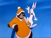"""The Bear and the Hare"" is one of two MGM Barney Bear cartoon shorts included on this set."