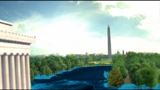 "Computer graphics depict what would happen if Washington D.C. got really wet in ""A Flood of Visual Effects."""