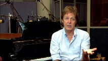 With his familiar Liverpudlian accent, Paul McCartney (The Beatles, Wings) describes the process of writing an end credits theme tune.