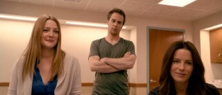 Three adult kids (Drew Barrymore, Sam Rockwell, Kate Beckinsale) together in the same room. Now if they just did this in the first place, Dad wouldn't have had to travel all around the country against medical advice.
