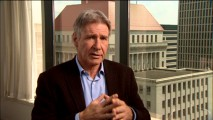 "Harrison Ford discusses the first movie he's accepted less than top billing on in over 25 years in the routine making-of featurette ""The Power to Overcome."""