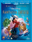 Fantasia & Fantasia 2000: 2 Movie Collection 4-Disc Special Edition Blu-ray + DVD cover art