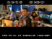 Johnny showcases his Human Torch figure in an amusing deleted scene set at a Fantastic 4 Store.