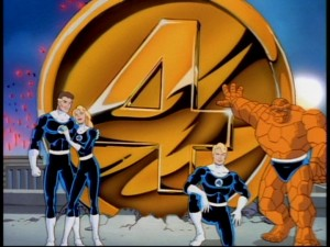 The Fan Four pose in the retooled Season Two opening credits sequence.
