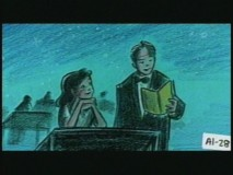 """Early Concept Story Reel"" foresees interstitials starring host Danny and animator Crystal interacting with one another."
