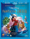 Fantasia & Fantasia 2000: 2 Movie Collection Blu-ray + DVD cover art -- click to buy combo from Amazon.com