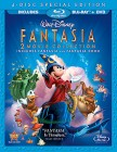 Fantasia and Fantasia 2000: 2 Movie Collection 4-Disc Special Edition Blu-ray + DVD Combo - November 30