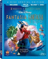 Fantasia & Fantasia 2000: 2 Movie Collection 4-Disc Special Edition Blu-ray + DVD Combo cover art