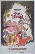 """The Fox and the Hound"" movie poster"