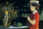 """Whisper of the Heart"" tells of a girl's summer vacation spent with a cat named The Baron. This 1995 Japanese blockbuster is one of three Studio Ghibli films coming to Disney DVD next month. Click for more."