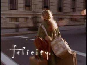 "The opening title sequence for ""Felicity."""