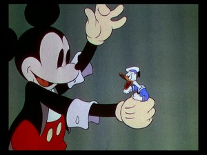 Mickey takes care of his top contender for Volume 1 status of the Funny Factory line.