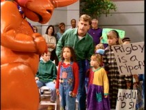 With a little help from Joey, Michelle, Denise, Stephanie, and friends stand up to Rigby the Rhino, first class ripoff.