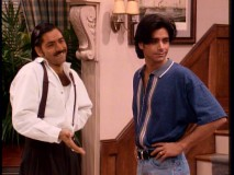 Double your Stamos, double your fun! In addition to Uncle Jesse, John Stamos gets to dress-up and play Stavros, his cousin from Greece.