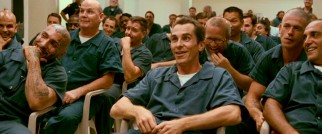 Dicky Eklund (Christian Bale) is excited to be the center of attention when the HBO documentary featuring him is screened for prison inmates.