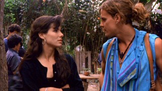 Preservationist Alyssa Rothman (Sandra Bullock) resents R.J.'s (Craig Sheffer) invocation of Mexican cuisine to refer to Bolivia's rainforest problem.