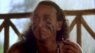 Dominican actor Juan Fernández (full name Juan de Jesus Fernández de Alarcon) plays Ataninde, a tribal leader who distrusts white people.