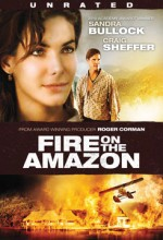 Fire on the Amazon: Anchor Bay's Unrated DVD cover art - click to buy from Amazon.com