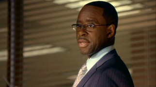 Courtney B. Vance plays Stanford Wedeck, Mark's boss at the Los Angeles FBI division. And that's really all there is to say about that.