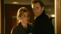 Olivia (Sonya Walger) and Mark Benford (Joseph Fiennes) share a look at evidence that suggests their marriage is in trouble as foreseen in this preview of the rest of Season 1.