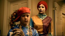 "Dressed as Sally from ""The Nightmare Before Christmas"", Benford nanny Nicole (Peyton List) is surprised to see this young pimp (Ryan Wynott) make himself at home in the Halloween episode ""Scary Monsters and Super Creeps."""