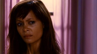 The loose Tangie (Thandie Newton) is not pleased by what her fanatical mother has to say about her.