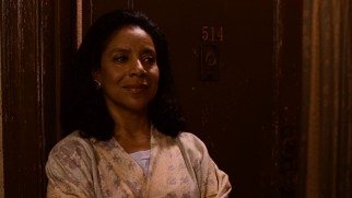 Phylicia Rashad plays Gilda, the sage and supportive apartment building manager.