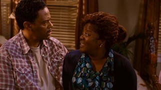 Free clinic nurse Juanita Sims (Loretta Devine) has an interesting relationship with her oft-stray partner Frank (Richard Lawson).