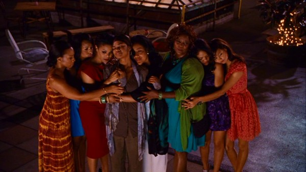 Colored girls of the world (or at least New York) unite in their signature colors in the rooftop finale of Tyler Perry's film.