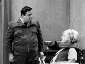 "Ralph Kramden (Jackie Gleason) is surprised to find his new television set being enthusiastically watched by Captain Video devotee Ed Norton (Art Carney) in ""TV or Not TV"", the first of the 39 classic ""Honeymooners"" episodes."