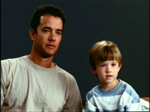 Tom Hanks gets little Haley Joel Osment to open up and look forward in 5-year-old Osment's screen test.