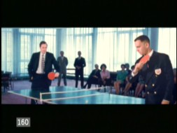 "Forrest Gump played ping-pong with George Bush Sr. in this deleted scene, which is broken down in one of the ""Seeing is Believing"" visual effects shorts."