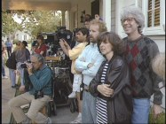 "Director Charles Shyer, co-writer/wife Nancy Meyers, and the rest of the crew as seen in production featurette ""An Invitation to Father of the Bride."""
