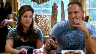 You might not suspect it, but hick relatives Susan (Katy Mixon) and Denver (Jon Favreau) put on quite the Taboo show.