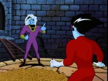 Microchip mogul-turned-rival freak Armando Guitierrez gives Freakazoid a fate of elaborate doom in the Season 1 finale.
