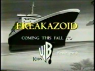 As seven preserved promos illustrate, Freakazoid was advertised with black & white spots inspired by cruise line commercials. Not your ordinary way of selling a cartoon, but then Freakazoid isn't your ordinary cartoon.