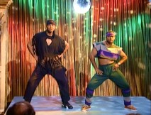 "After their luck at Las Vegas gambling runs out, Will and Carlton try dance, grooving to the sounds of Sugarhill Gang's ""Apache."""