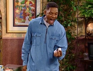 Will Smith (Will Smith) freaks out, having realized he's just given his cousin Hilary nighttime cold medicine in the day.