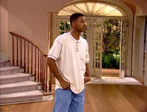 Will Smith (Will Smith) takes one last look at the now-emptied Bel-Air mansion he called home for six years.
