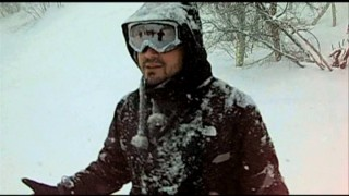 While running through the locations to be used, Adam Green and crew get caught in a major Utah snowstorm.