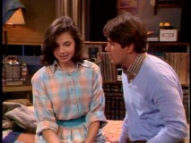 """Ready or Not"", Mallory moves towards losing her virginity with college boyfriend Rick (Tom Byrd)."