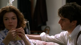 Before uncovering the deadly conspiracy and corruption of his new workplace, long hours apart take a toll on young married couple Abby (Jeanne Tripplehorn) and Mitch (Tom Cruise).