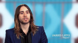 "His hair, eyebrows, and stubble grown back, Jared Leto discusses his character in ""A Look Inside 'Dallas Buyers Club.'"""
