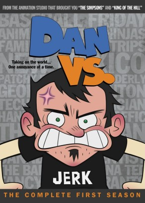 Dan vs.: The Complete First Season DVD cover art -- click to buy from Amazon.com