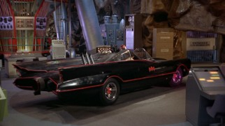 The Batmobile of the campy 1960s television show and movie is given its due.