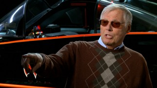 Adam West recalls the Halloween he briefly went trick-or-treating in the Batmobile in Disc 2's new hour-long documentary.