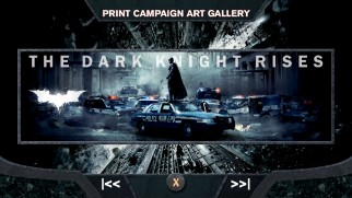 As you can guess, a Print Campaign Art Gallery shows off art from the film's print campaign.