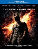 The Dark Knight Rises: Blu-ray + DVD + UltraViolet combo pack cover art -- click to buy from Amazon.com