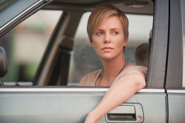 """Dark Places"" stars Charlize Theron as Libby Day, who is asked to revisit the family massacre from her childhood that she witnessed and survived."