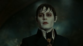 "After nearly 200 years locked in a coffin, Barnabas Collins (Johnny Depp) awakens to a changed world in ""Dark Shadows."""